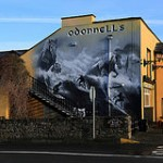 O'Donnells Bar at the entrance to Mullaghmore